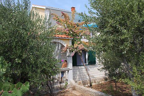 Ferienhaus Borozan in Okrug Gornji